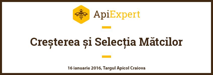 Prezentare Cresterea si Selectia Matcilor, Targul Apicol Craiova [16 ianuarie 2016]
