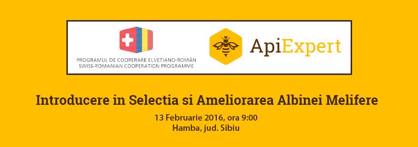 Prezentare ApiExpert: Introducere in Selectia si Ameliorarea Albinei Melifere [13 Februarie, 2016]